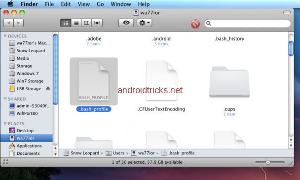 Setup ADB and Fastboot with Android SDK on Mac OSX – Wapnet Blog