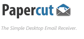 Papercut: Simple Desktop SMTP Server